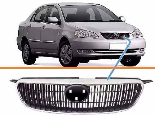 Grade Corolla Fielder Seg 2003 2004 2005 2006 2007 2008 Nova  - Kaçula Auto Peças