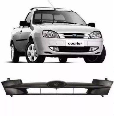 Grade Courier E Fiesta Ford 2000 A 2014 Preta  - Kaçula Auto Peças