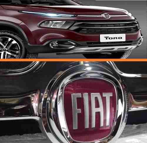 Grade Cromada Capo Superior Fiat Toro(original)  - Kaçula Auto Peças