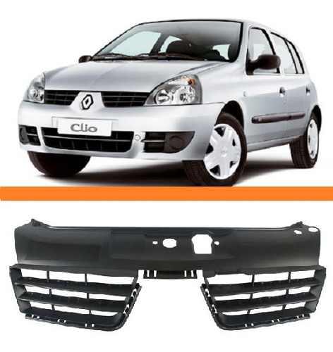 Grade Dianteira Clio 2006 2007 2008 2009 2010 2011  - Kaçula Auto Peças