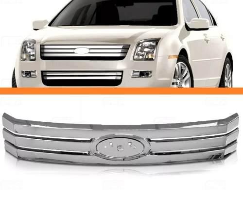 Grade Dianteira Cromada Fusion 2006 2007 2008 2009 Ford  - Kaçula Auto Peças