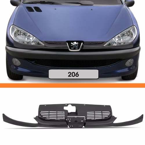 Grade Dianteira Peugeot 206 99 2000 2001 2002 2003 04 A 2011  - Kaçula Auto Peças
