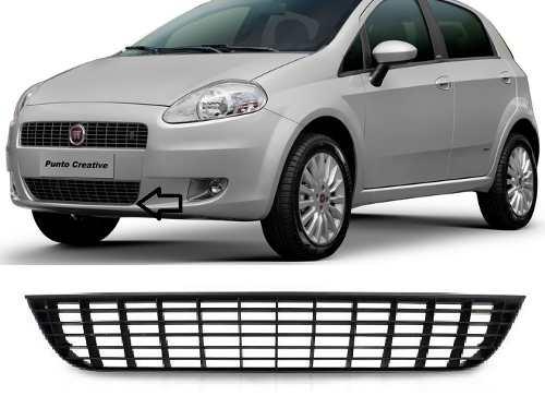 Grade Inferior Do Parachoque Fiat Punto Cinza Novo  - Kaçula Auto Peças