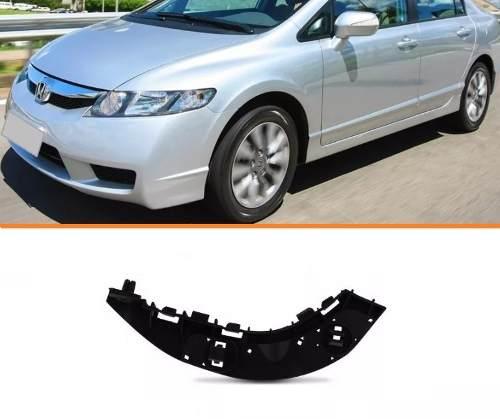 Guia Parachoque New Civic 07 11 Esquerdo   - Kaçula Auto Peças