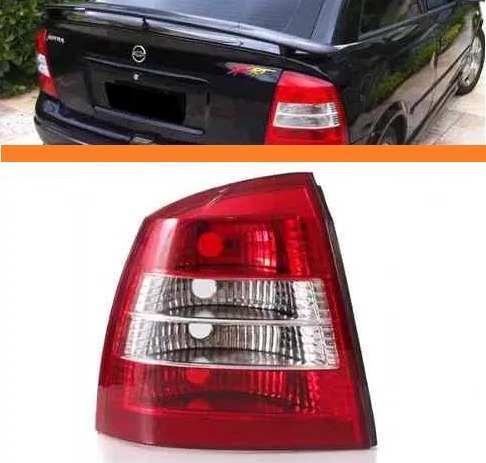 Lanterna Astra 1998 2002 Bicolor Sedan Lado Esquerdo  - Kaçula Auto Peças