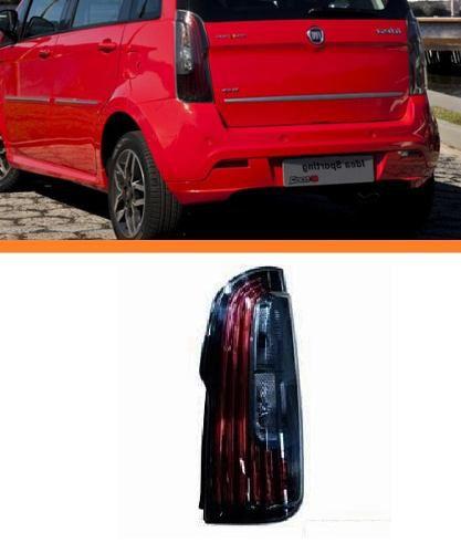 Lanterna  Fiat Idea 2011 2012 2013 2014 Com Led Dir Fumê  - Kaçula Auto Peças