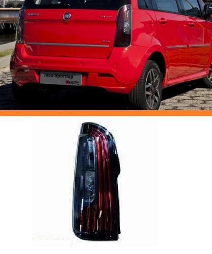 Lanterna  Fiat Idea 2011 2012 2013 2014 Com Led Esq Fumê  - Kaçula Auto Peças