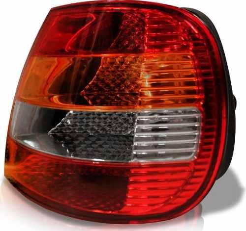 Lanterna Fiat Siena 01 02 03 Carcaça Preta Direita  - Kaçula Auto Peças