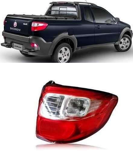 Lanterna Fiat Strada 2014 2015 2016 Direita Original Nova  - Kaçula Auto Peças