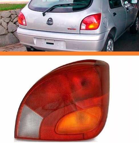 Lanterna Fiesta 96 97 98 99 00 Tricolor Lado Direito  - Kaçula Auto Peças