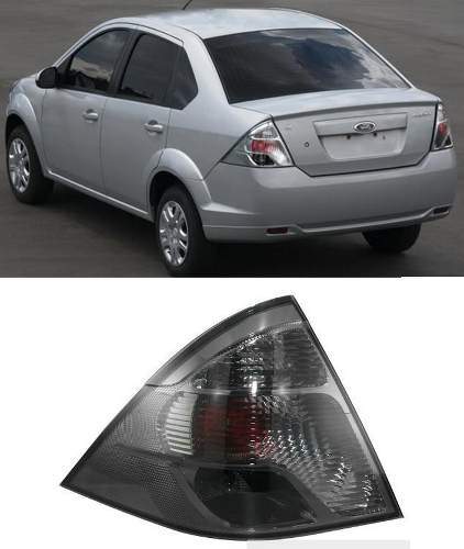 Lanterna Fiesta Sedan 2011 2012 2013 Fume Nova Lado Esquerdo  - Kaçula Auto Peças