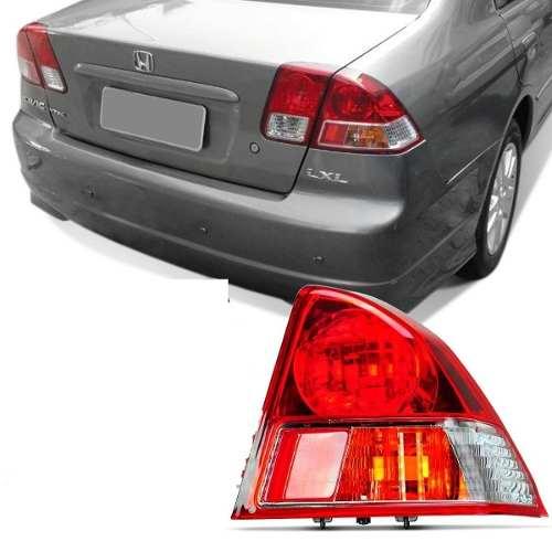 Lanterna Honda Civic 2003 2004 2005 2006 Lado Direito  - Kaçula Auto Peças