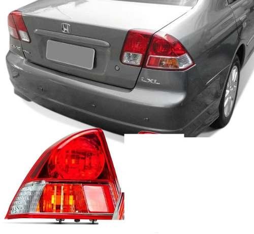 Lanterna Honda Civic 2003 2004 2005 2006 Lado Esquerdo  - Kaçula Auto Peças