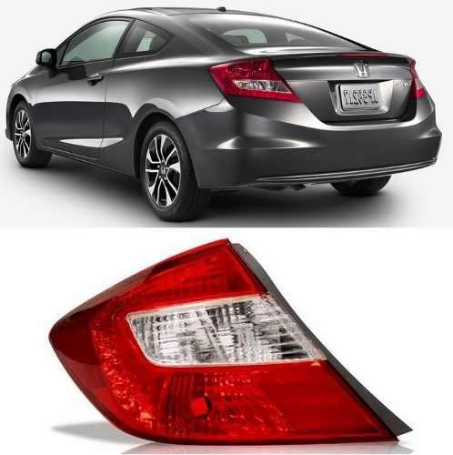 Lanterna Honda Civic Lado Esquerdo Ano 2012 2013 2014 2015  - Kaçula Auto Peças