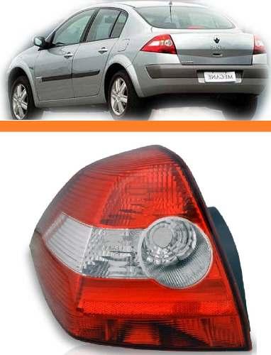 Lanterna  Megane Sedan  2006 2007 2008 2009 2010 Esquerdo  - Kaçula Auto Peças