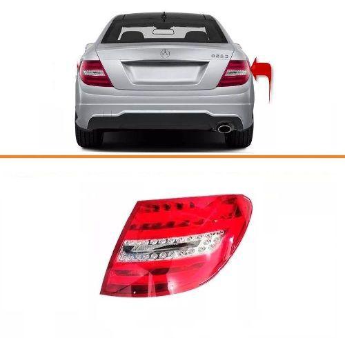 Lanterna Mercedes C180 Com Led 2012 2013 2014 Lado Direito  - Kaçula Auto Peças