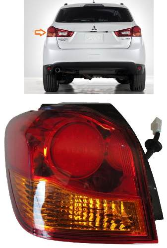 Lanterna Mitsubishi Asx 2010 2011 2012 2013 2014 - Esquerda  - Kaçula Auto Peças