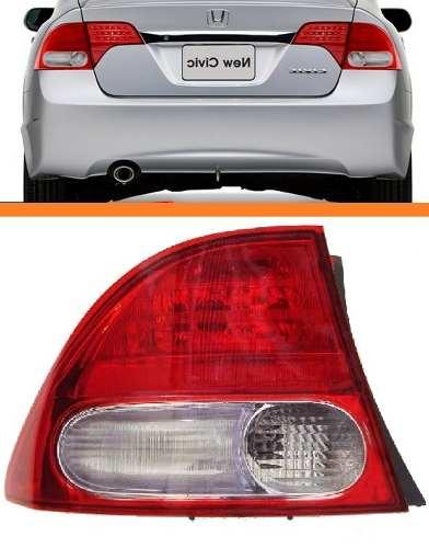 Lanterna New Civic 07 08 09 10 11 Canto Original Par  - Kaçula Auto Peças