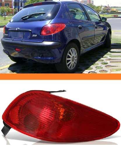 Lanterna Peugeot 206 03 04 05 06 07 08  Direito  - Kaçula Auto Peças
