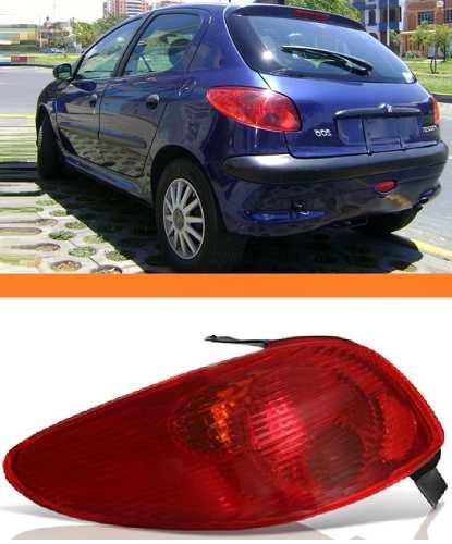 Lanterna Peugeot 206 03 04 05 06 07 08  Esquerdo  - Kaçula Auto Peças