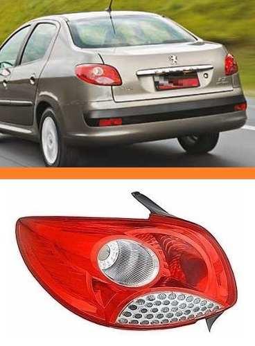 Lanterna Peugeot 207 Sedan 08 09 10 11  12 Orig Esquerda  - Kaçula Auto Peças