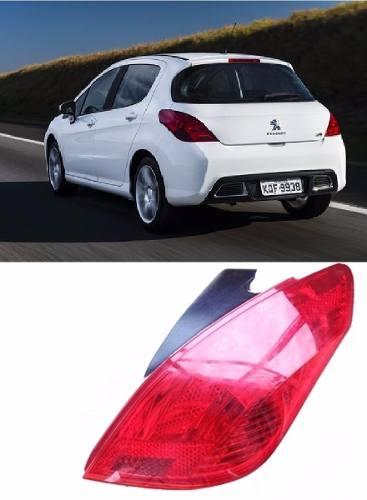 Lanterna Peugeot 308 2012 2013 2014 2015 Direita  - Kaçula Auto Peças