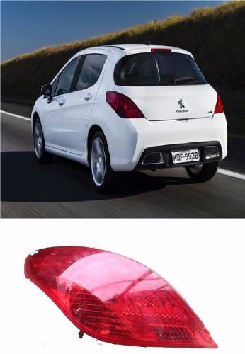 Lanterna Peugeot 308 2012 2013 2014 2015 Esquerdo  - Kaçula Auto Peças