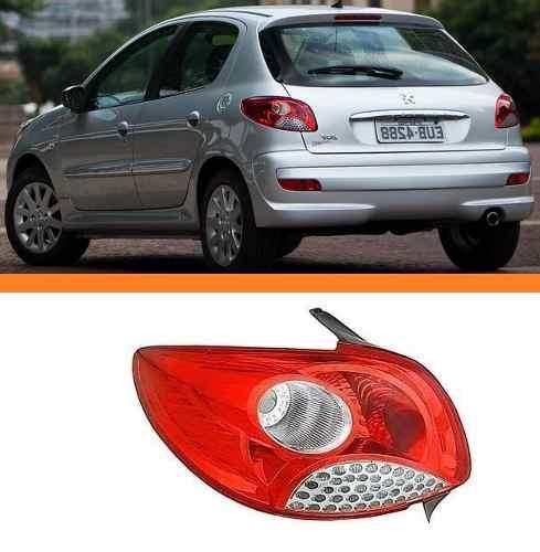 Lanterna Peugeot Hatch 207 08 09 10 11  12 Orig Esquerda  - Kaçula Auto Peças