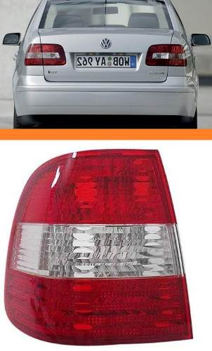 Lanterna Polo Sedan 2003 2004 2005 2006 Lado Esquerdo Nova  - Kaçula Auto Peças