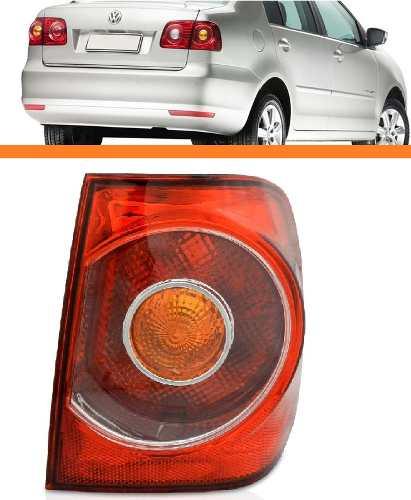Lanterna Polo Sedan 2007 2008 2009 2010 2011 Direita Canto  - Kaçula Auto Peças