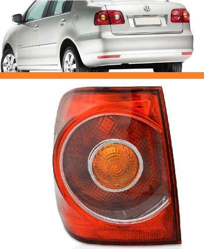 Lanterna Polo Sedan 2007 2008 2009 2010 2011esquerda Canto  - Kaçula Auto Peças