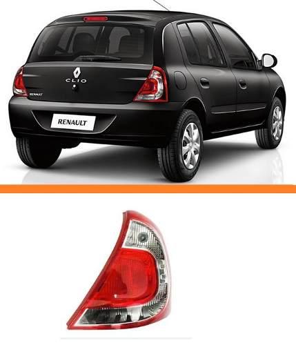 Lanterna Renault  Clio Ano 2013 2014 2015 Lado Direito Novo  - Kaçula Auto Peças