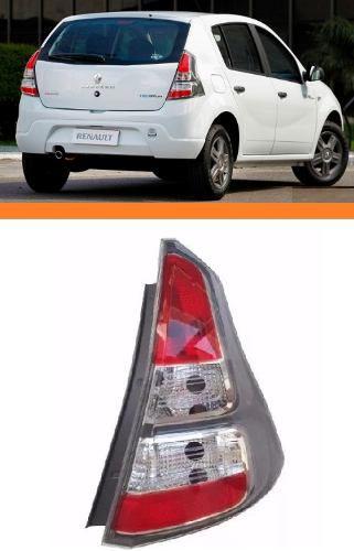 Lanterna Renault Sandero Cinza 2012 2013 2014 Direito  - Kaçula Auto Peças