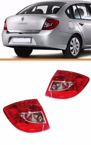 Lanterna Renault Symbol 2009 2010 2011 2012 2013 - Direito  - Kaçula Auto Peças
