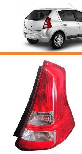 Lanterna Sandero 2012 2013 2014 - Lado Direito (passageiro)  - Kaçula Auto Peças
