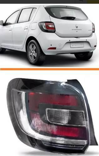 Lanterna Sandero Stepway Lado Esquerdo 2015 2016 Tyc  - Kaçula Auto Peças