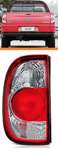 Lanterna Saveiro G2 G3 G4 06 07 08 09 10 11 12 Bicolor  Le  - Kaçula Auto Peças