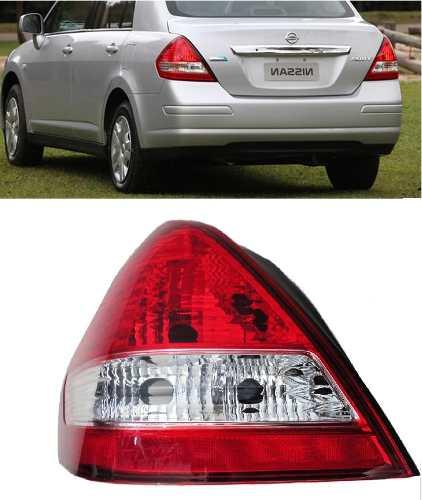 Lanterna Tiida Sedan Nissan 2010 2011 2012 2013 14 Esquerdo  - Kaçula Auto Peças