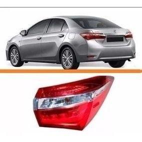 Lanterna Toyota Corolla 2015 2016 Direita Com Led  - Kaçula Auto Peças