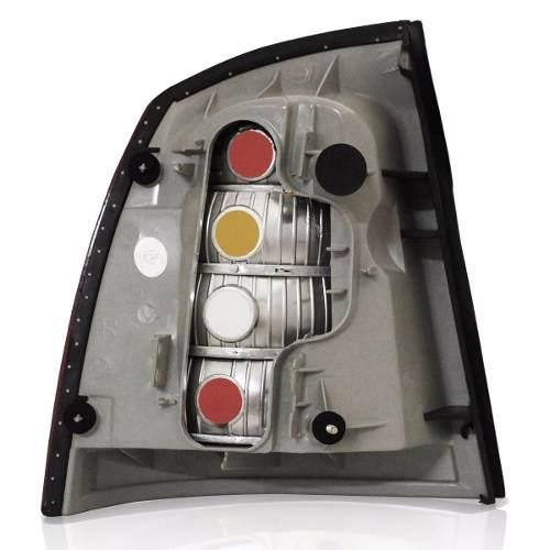 Lanterna Traseira Astra Sedan 98 99 00 02 Tricolor Esquerdo  - Kaçula Auto Peças