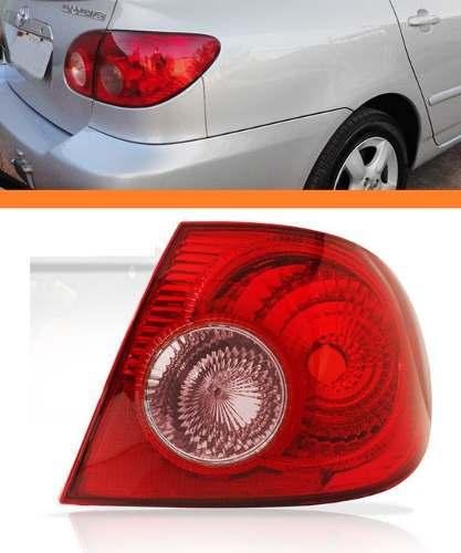 Lanterna Traseira Corolla 05 06 07 08 Canto Direita Ré Rosa  - Kaçula Auto Peças