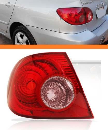 Lanterna Traseira Corolla 05 06 07 08 Canto Esquerda Ré Rosa  - Kaçula Auto Peças