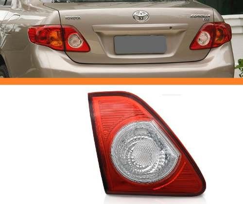 Lanterna Traseira Corolla 08 09 10 11 Tampa Bicolor Esquerda  - Kaçula Auto Peças