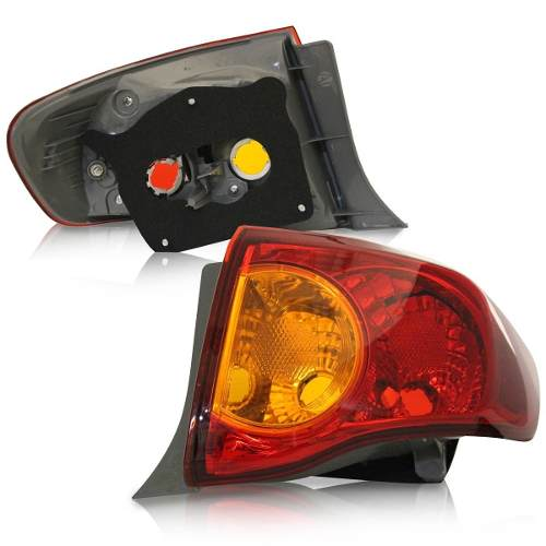 Lanterna Traseira Corolla 08 09 10 11 Tricolor Le  - Kaçula Auto Peças