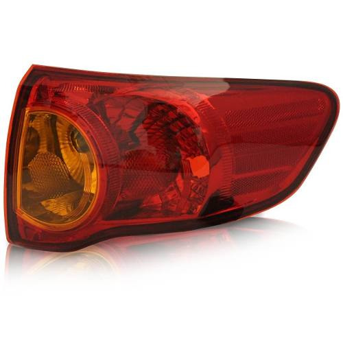 Lanterna Traseira Corolla 08 09 10 11canto Direito Tricolor  - Kaçula Auto Peças