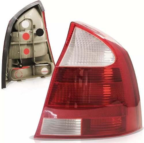 Lanterna Traseira Corsa Sedan  2003/2012  Branca Le  - Kaçula Auto Peças