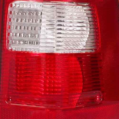 Lanterna Traseira Ecosport 04 05 2006 2007 Bicolor Esquerdo  - Kaçula Auto Peças