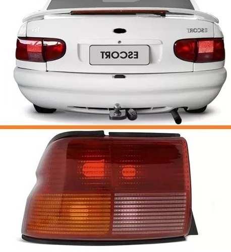 Lanterna Traseira Escort Zetec Hatch 1997 Até 2001 Le  - Kaçula Auto Peças