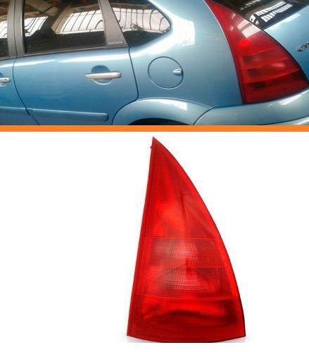 Lanterna Traseira Esquerda Citroen C3 2003 2004 2005 Vermelh  - Kaçula Auto Peças