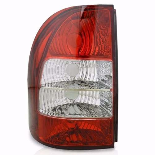 Lanterna Traseira Fiat Strada 2005 06 07 08 Bicolor Esquerdo  - Kaçula Auto Peças